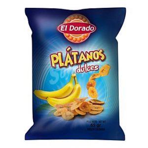 Platanitos Dulces [100g] – El Dorado