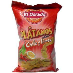 Platanitos Limonchile [100g] – El Dorado