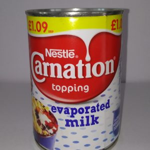 Carnation Evaporated -Latte Concentrato Non Zuccherato Nestlé 410gr