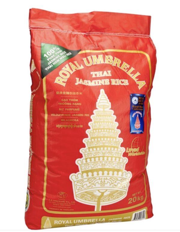 riso thai profumato jasmine 20kg mango con piña