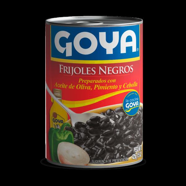 frijoles negros goya - mango con piña