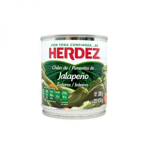 pimientos de jalapeños enteros