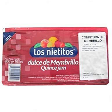 confettura di membrillo mango con piña