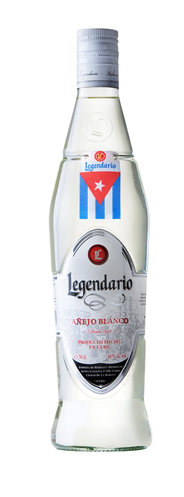 ron añejo blanco legendario
