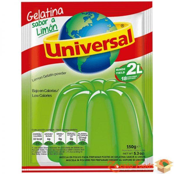 gelatina universal lime 150gr - mango con piña