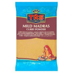 Mild Madras Curry In Polvere – TRS (100gr)