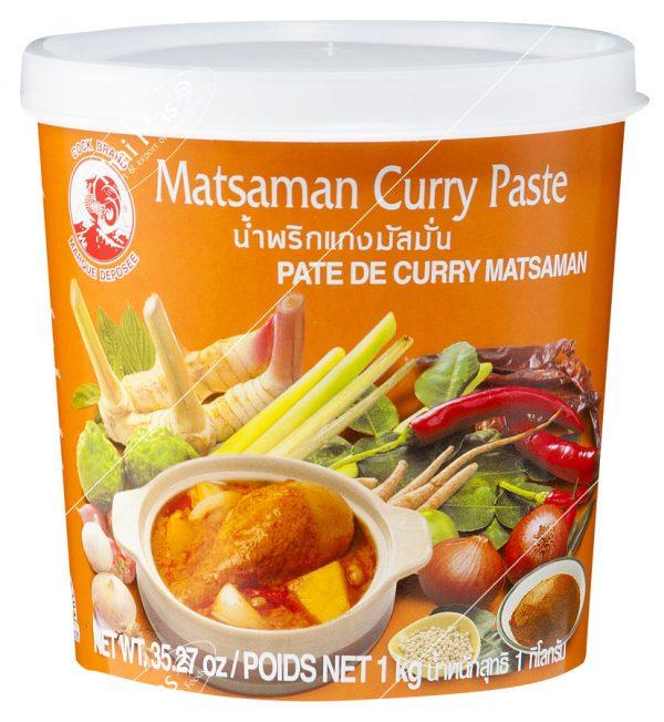 matsaman curry paste - mango con pina