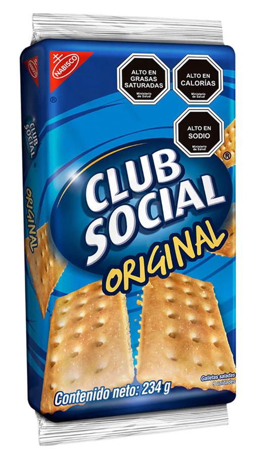 club social - mango con piña