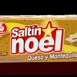 Biscotti Saltin Queso & Mantequilla Noel – 385gr
