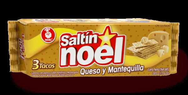 galletas noel queso y mantequilla - mango con piña