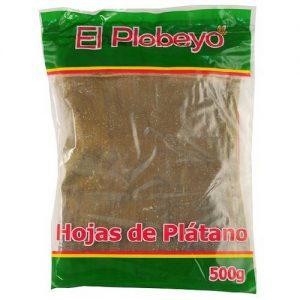 Foglie di Platano 500gr – El Plebeyo