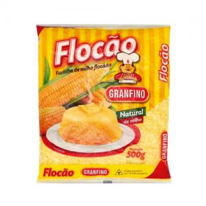 Farinha De Milho Flocada (Flocao) 500gr – Granfino