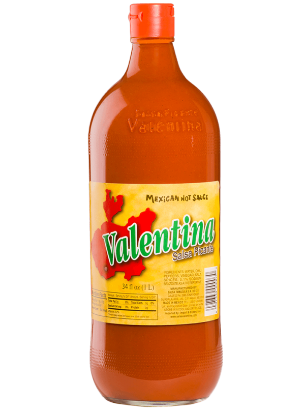 salsa valentina etiqueta roja