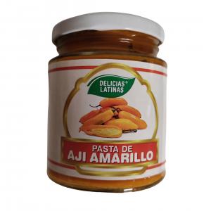 Pasta di Peperoncino Giallo (Aji Amarillo) 250gr – Delicias Latinas
