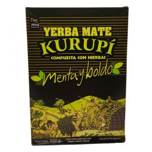 Yerba Mate Kurupí Menta y Boldo – 500g