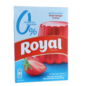 Gelatina Royal Fragola – Senza Zucchero (103g)