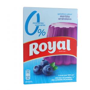 Gelatina Royal Mirtillo – Senza Zucchero (103g)