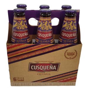 Birra Cusqueña Quinua Six Pack – (6 x 330ml)